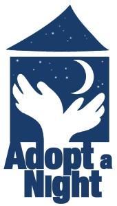 Adopt a night logo
