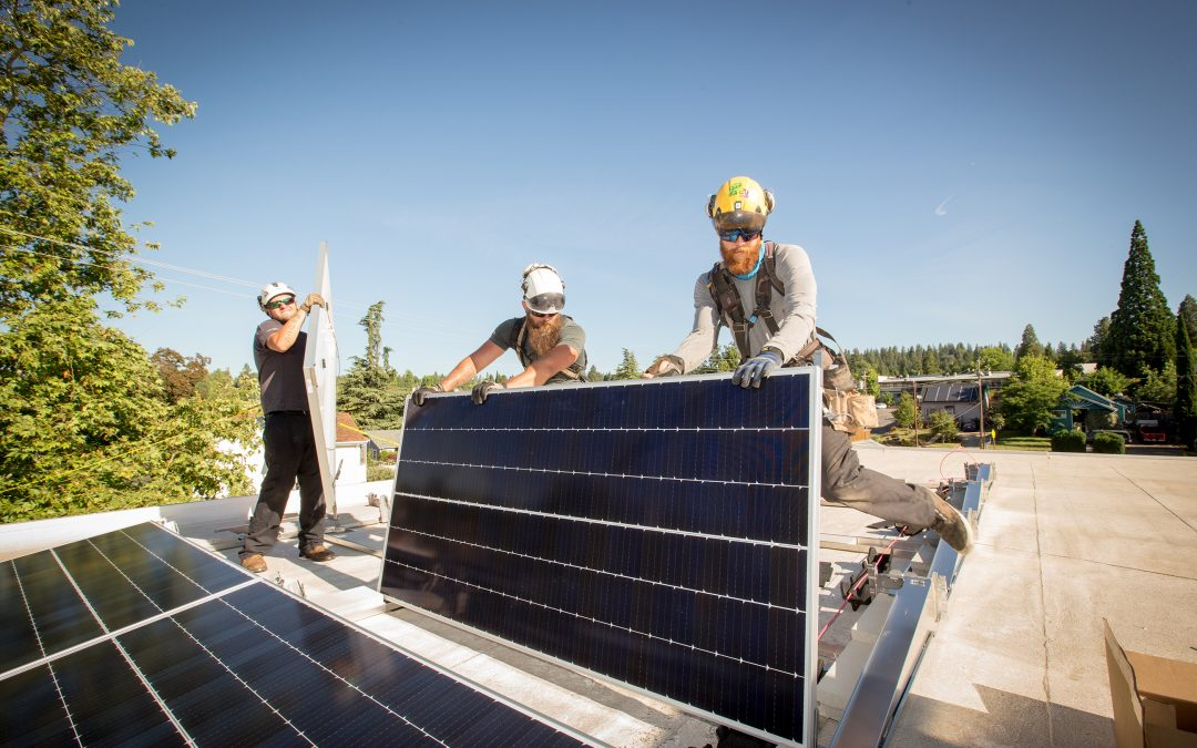 Solar System Donated to Local Homeless Shelter