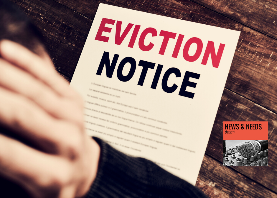 Weekly News:  Man Evicted from his Care Home at 65 years old