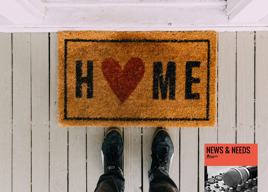 Weekly News: Guest Supported in Finding Housing after Decades of Homelessness