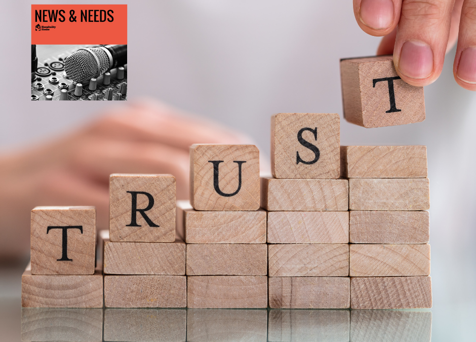Weekly News: Building Trust is a Key Factor for Recovery